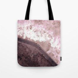 #pink #sea Tote Bag