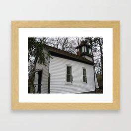 The Roadside Chapel Framed Art Print