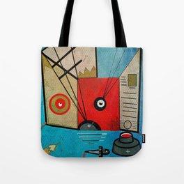 Cat, Art & Ink Tote Bag