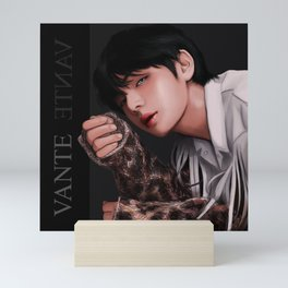 BTS V TEARS Mini Art Print
