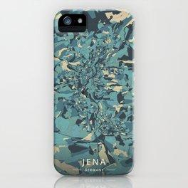 Jena, Germany - Cream Blue iPhone Case