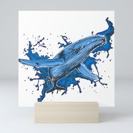 Humpback Whale Mini Art Print