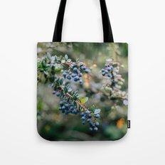 Spring Blueberries // California Tote Bag