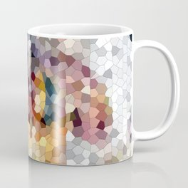 Stylish Modern Pixalated Artwork Artdeco Coffee Mug