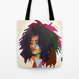 beautiful frizzy girl Tote Bag