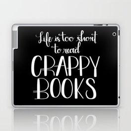 Crappy Books Laptop & iPad Skin