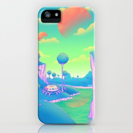 Planet Namek iPhone Case