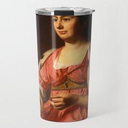 John Singleton Copley - Abigail Smith Babcock (Mrs Adam Babcock) Travel Mug