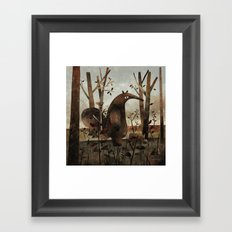 What's For Dinner? (Anteater) Framed Art Print