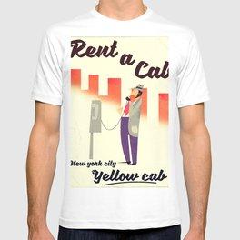 Rent a Cab! New York City T-shirt