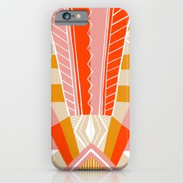 salida, woven rug pattern iPhone Case