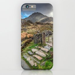 Gate to Snowdonia iPhone Case
