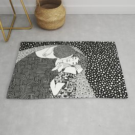 Gustav Klimt - The kiss Rug