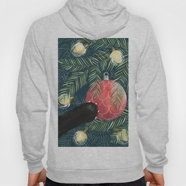 Here Comes Santa Claws Hoody