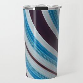 Blue, white and purple Travel Mug