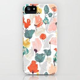 Wild Beauty Saffron iPhone Case