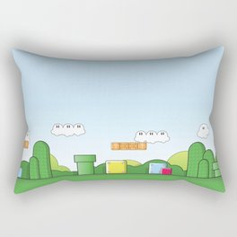 World of Mario Rectangular Pillow