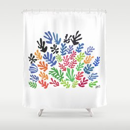 La Gerbe by Matisse Shower Curtain