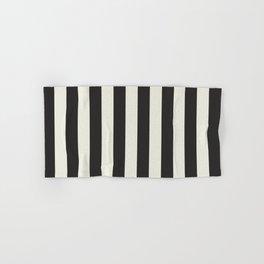Love stripes (black & cream) Hand & Bath Towel