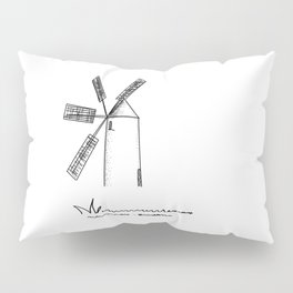 mill on white background .( https://society6.com/vickonskey/collection ) Pillow Sham