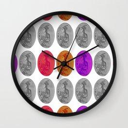 Pop Art Mughal Wall Clock
