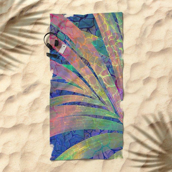 Summer Pattern #8 Beach Towel