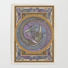 Triple Raven Poster