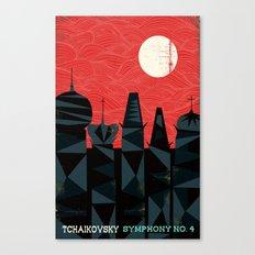 Tchaikovsky - Symphony No. 4 Canvas Print