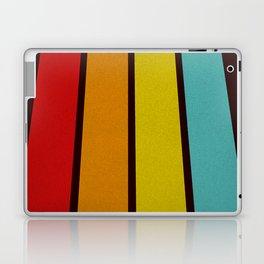 Retro Lines Laptop & iPad Skin