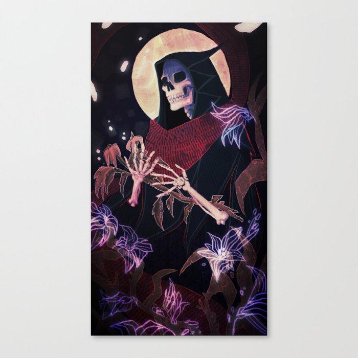 Death Tarot Canvas Print