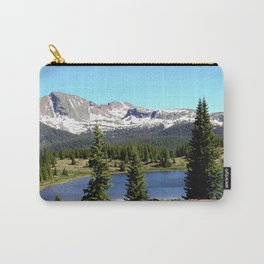 Little Molas Lake with Snowdon Peak Carry-All Pouch