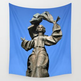Statue of Independence Wall Tapestry