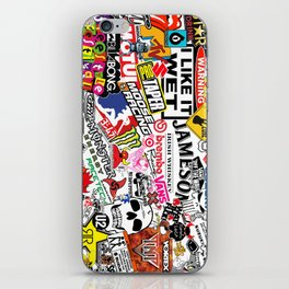 Sticker Bomb iPhone Skin