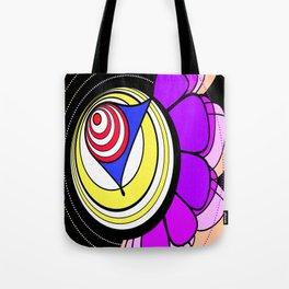 Jane's Funk Town Flower Clown Tote Bag