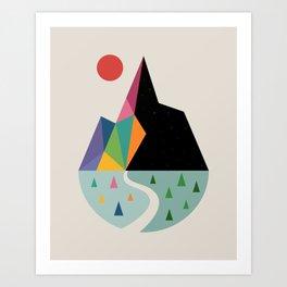 Bright Side Art Print