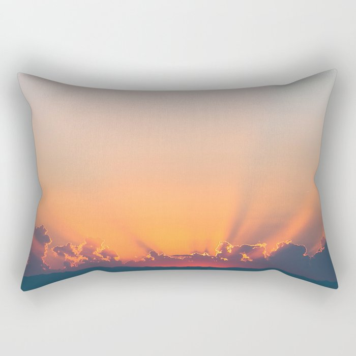 Sunrise x Sunset Rectangular Pillow