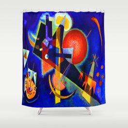 Kandinsky In Blue Shower Curtain