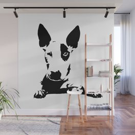 BULL TERRIER GIFTS Wall Mural