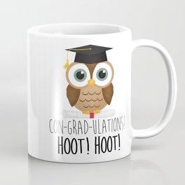 Con-grad-ulations! Hoot! Hoot! Coffee Mug