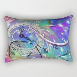 Warped Time Travel Rectangular Pillow