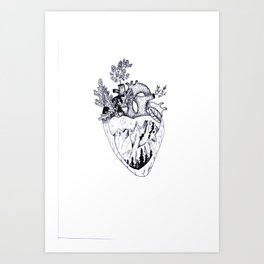 I am Wild at Heart  Art Print