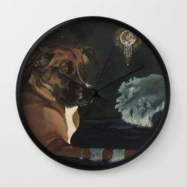 Jango and the Dreamcatcher Wall Clock