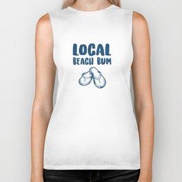 Flip Flops Local Beach Bum Beach Lover Biker Tank