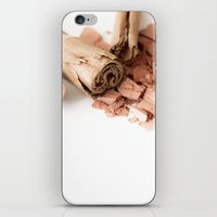 makeup iPhone & iPod Skins featuring Makeup 01 by VanessaGF