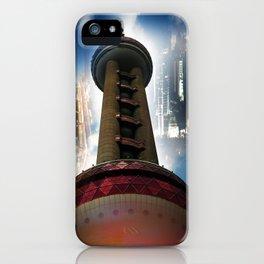 Shanghai - Oriental Pearl Tower iPhone Case