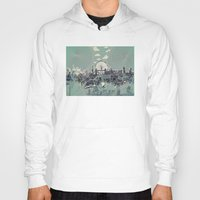 london Hoodies featuring London by Bekim ART