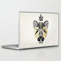 the lion king Laptop & iPad Skins featuring lion king by Manoou