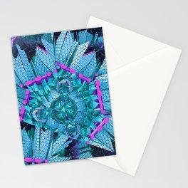 Fractal Art - Vaporwave Crash Stationery Cards
