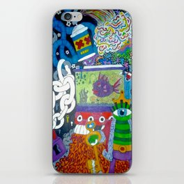 ToyBox Mind Clutter iPhone Skin