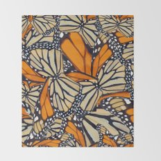 monarch Throw Blanket